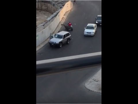 Bikers attack police patrol in Jeddah corniche