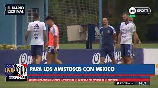 La Selección Argentina volvió a los entrenamientos