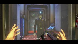 "We Happy Few - Mount Badon Bridge: Show Bobby Letter of Transit ""You Bell Headed Turd"" (2018)"