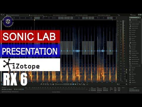 IZotope RX 6- Presentation