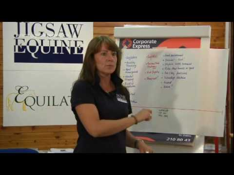 Jigsaw Equine Videos - Preparing to Compete - Shower Curtains!