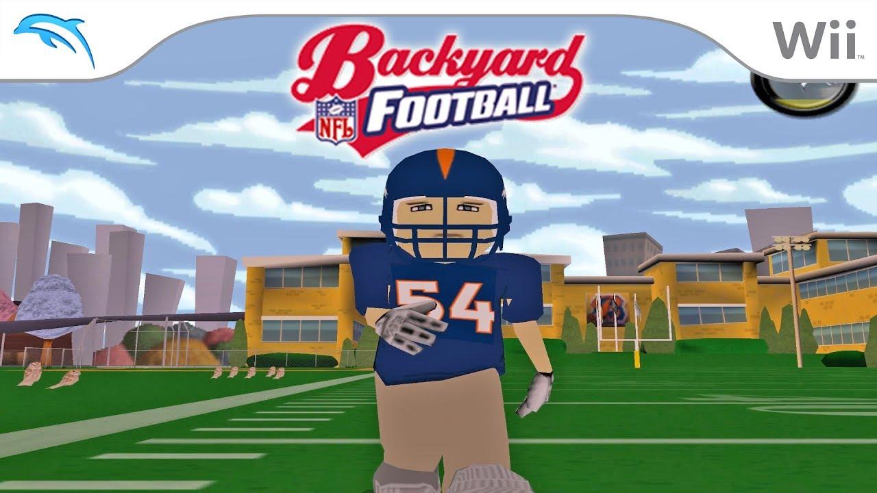 Backyard Football | Dolphin Emulator 5.0-8490 [1080p HD ...
