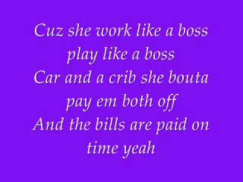 Ne-Yo = Miss Independent / With Lyrics ~~!!