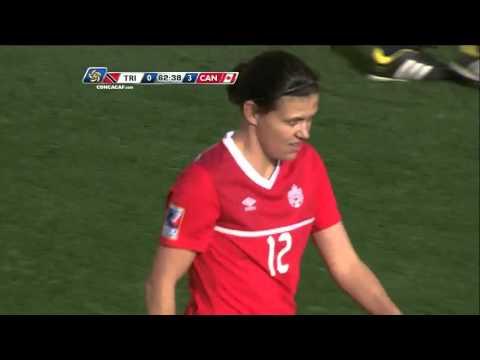 Goal CAN - No. 12 Christine SINCLAIR @sincy12 | @TTFootballAssoc @CanadaSoccerEN #CWOQ2016