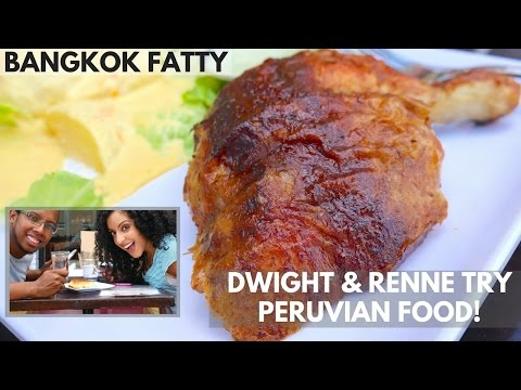 Spicy or Nah? Dwight and Renne Try Peruvian Food in Atlanta!