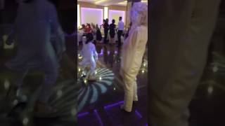 Efi and granny in wedding 2016 Bulgaria Hotel National Sliven