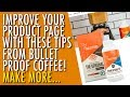 Breaking Down Bulletproof Coffee's Website | Creating A Great Product Page