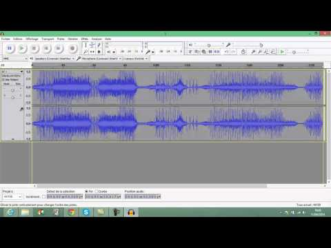 tuto audacity 1(augmenter ou diminuer le son d'une musique ou d'un son)