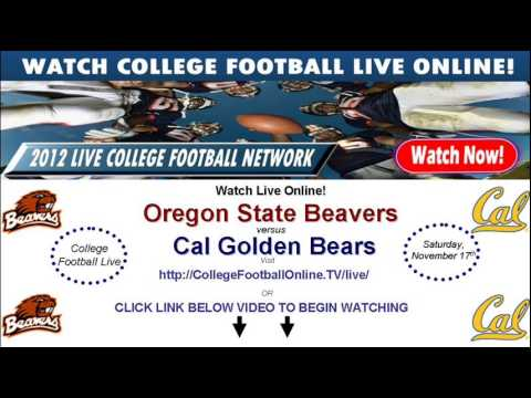 Watch Oregon State Online Vs Cal Streaming November 17th