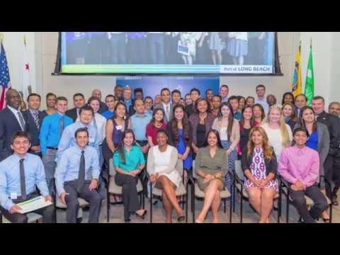 Port of Long Beach 2015 Summer High School Internship Celebration