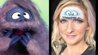 Bumble - Abominable Snowman Christmas Face Painting Tutorial - Collab w/ Gypsy Rose