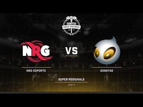 Smite Super Regionals 2017 EU Group Stage NRG Esports vs Team Dignitas