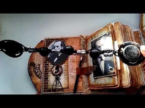 "Ladies Vintage ""Sherlock Holmes"" Travel journal/ diary SOLD"