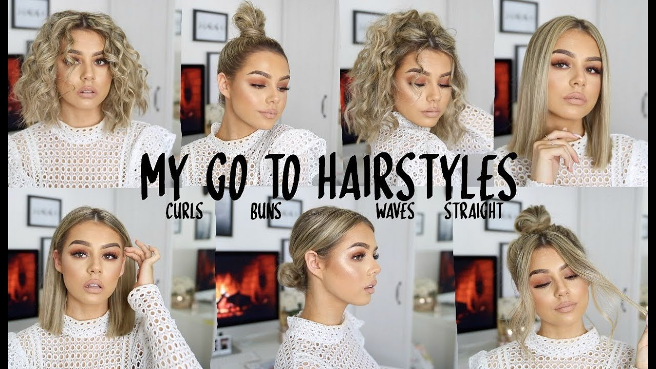 Fave Go To Hairstyles For Short Hair