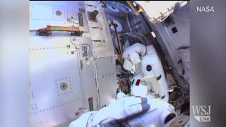 NASA on Why a Spacewalk Had to Be Aborted