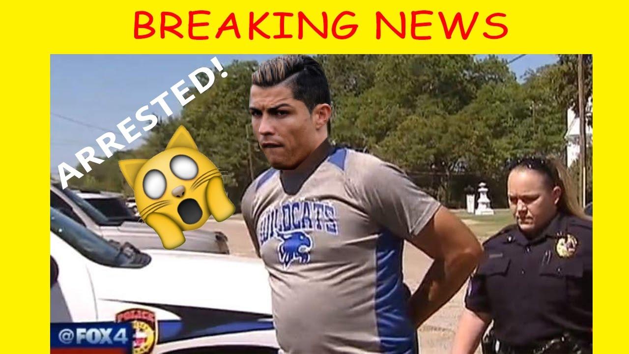 Breaking News!!! Cristiano Ronaldo Arrested!!!! Wtf