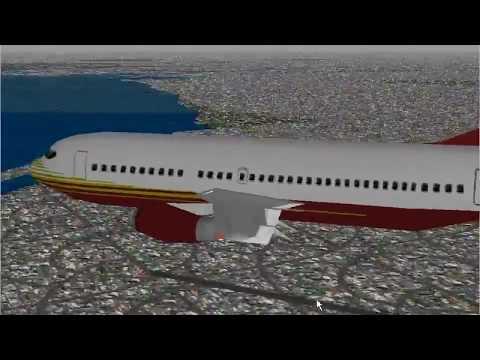 Microsoft Flight Simulator 98 | Adventure: Tokyo Ferry Flight | Boeing 737