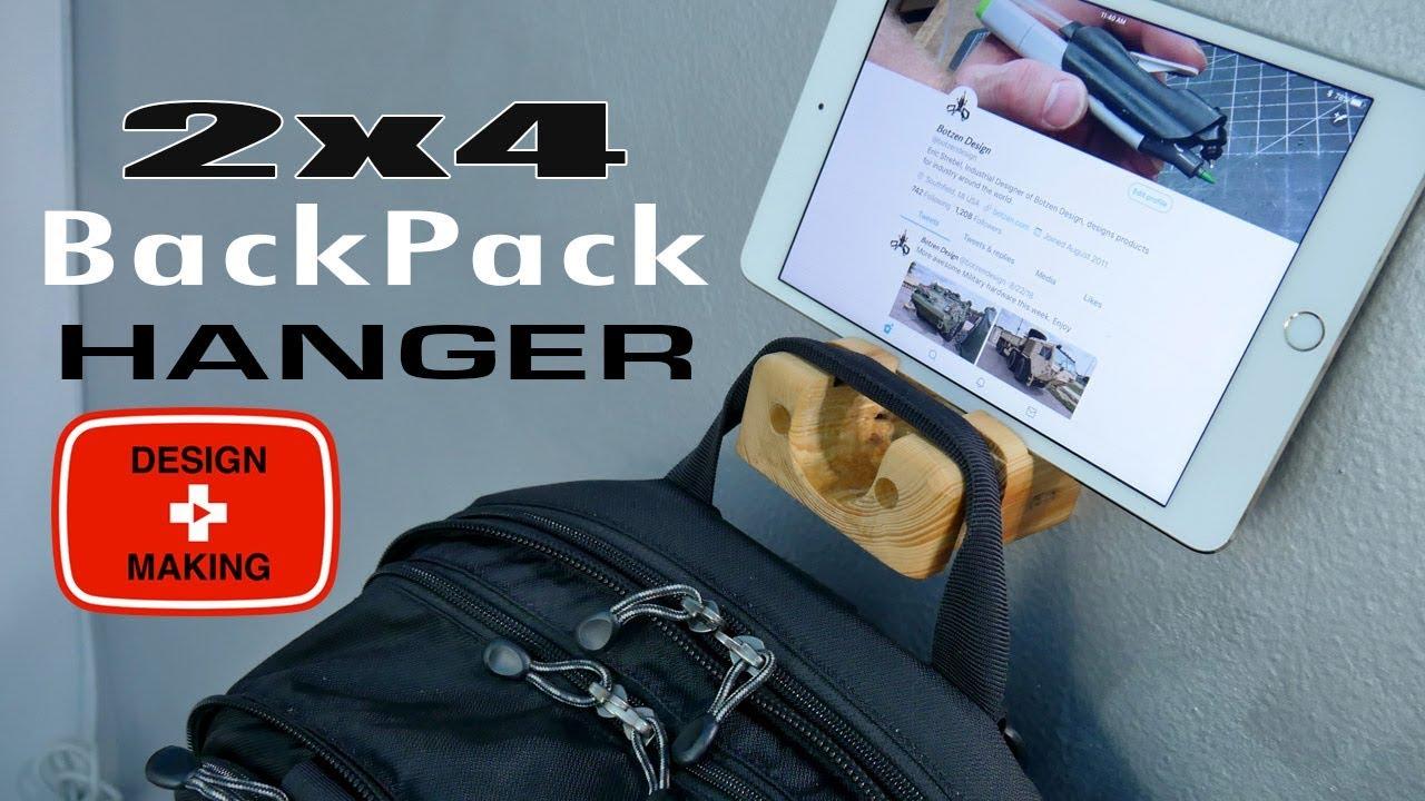 alfred backpack hanger by
