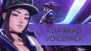 K/DA Akali Voicepack [Skin+]