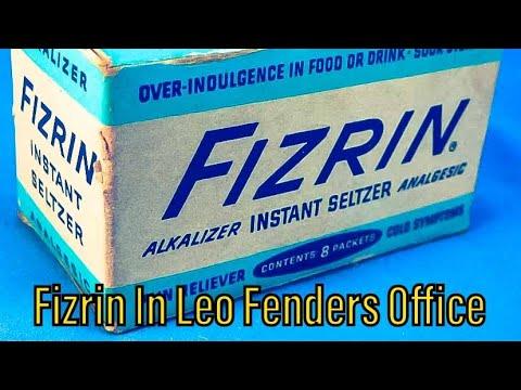 Fizrin in Leo Fenders Office