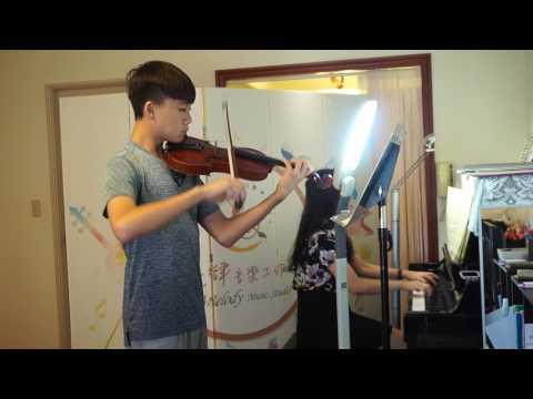 James 陳建安小提琴 ABRSM Grade 8 Violin C5 Konzert 1st movement