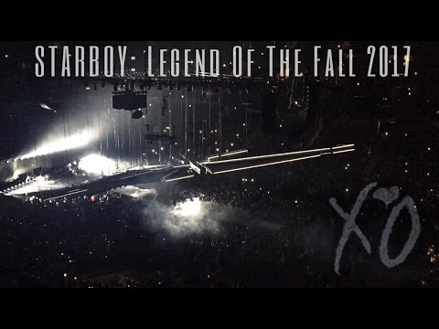 STARBOY: Legend of the fall world tour 2017 |DALLAS TX|