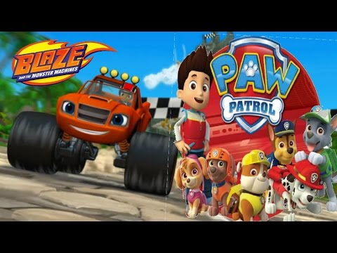 Blaze And The Monster Machines Dragon Island Race Paw