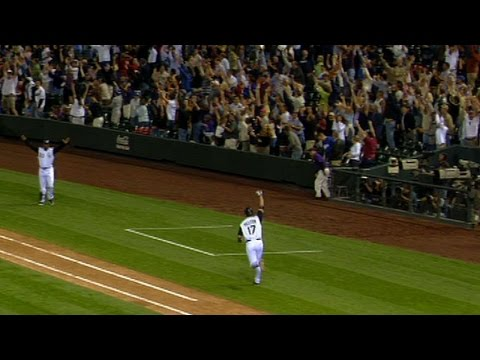 Great Moments In Rockies History: Helton