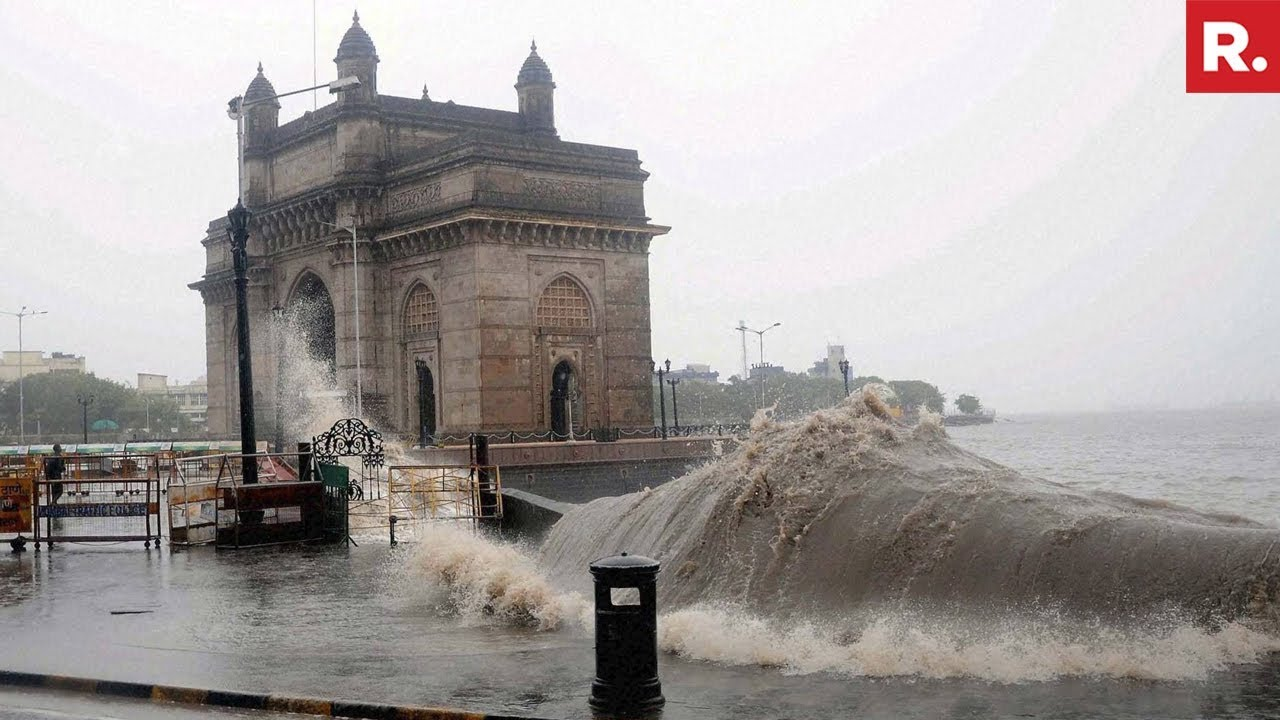 Mumbai Rains High Tide Expected Today Youtube