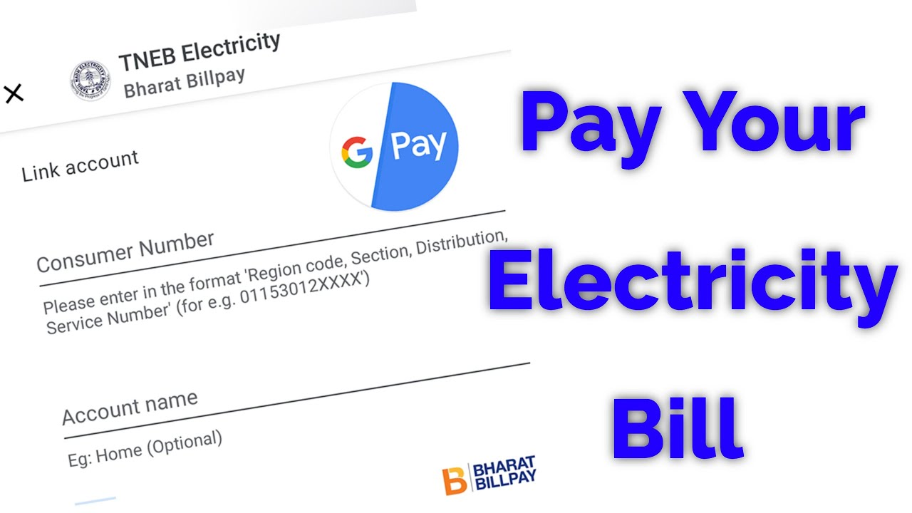How To Pay Electricity Bill In Google Pay For Any Indian State Youtube