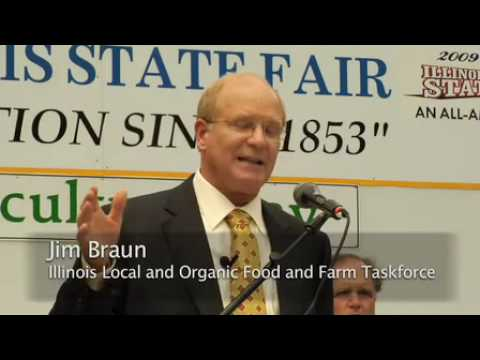 The Illinois Food, Farms, and Jobs Act (HB3990) Bill Signing August 18, 2009