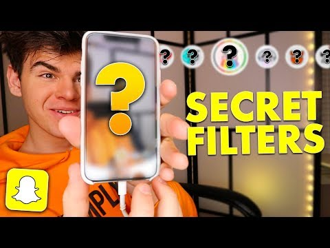 CUSTOM HIDDEN SNAPCHAT FILTERS THAT SNAPCHAT DOESN'T WANT YOU TO SEE!