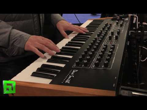 Dave Smith Instruments REV2 NAMM 2017 direct audio