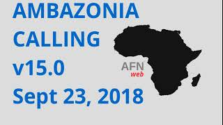 AMBAZONIA CALLING 16 SEPT 23, 2018