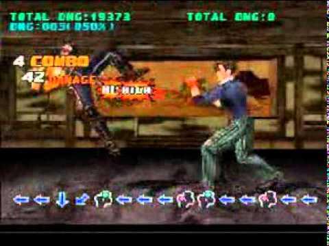 Tekken 3 Jin Kazama Combo Exhibition Cmv Youtube