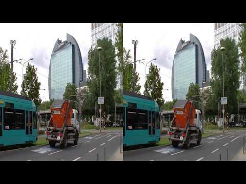 Real D 3D VR: Radisson Blu Hotel Frankfurt - eine runde Sache