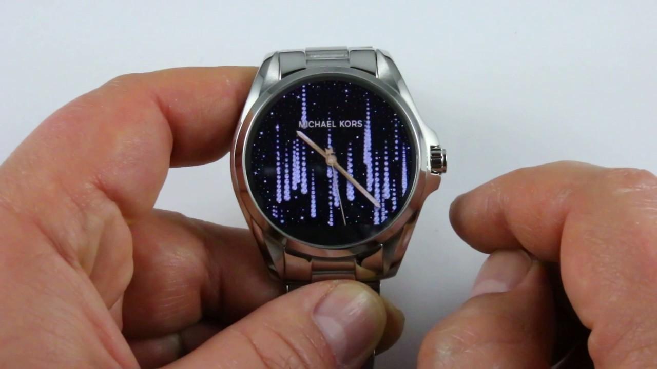 061913d1f1cd Smartwatch Michael Kors MKT5012 Bradshaw - Zegarek MK Access - Otozegarki.pl