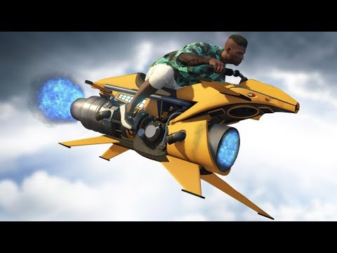 YENİ 5.000.000$ UÇAN ROKET MOTOR! (GTA 5 Online DLC) thumbnail