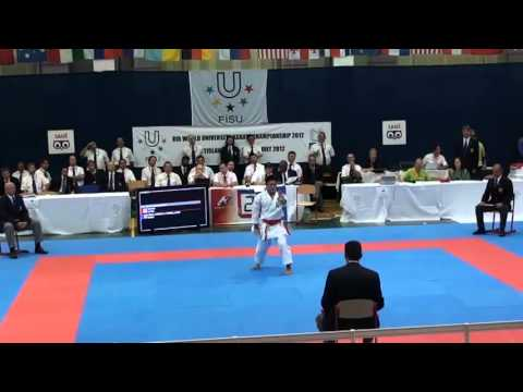 8th World University Karate Championships - 12/15 July 2012 - Bratislava (Slovakia) - Final Men's