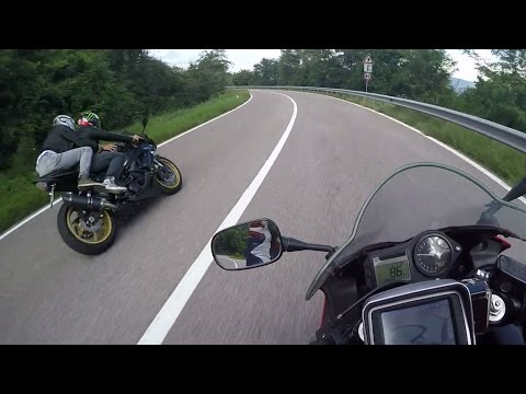 mendelpass passo mendola italy honda cbr600f by moto mika watch and free download. Black Bedroom Furniture Sets. Home Design Ideas