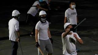VOA连线(海彦):香港警方拘捕7名元朗黑社会暴行涉案男子