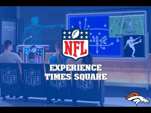 NFL EXPERIENCE  TIMES SQUARE - NUEVA YORK - DE VIAJE CON AMISA