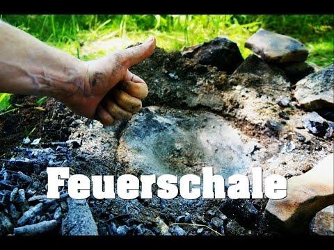 XL Feuerschale  41x41cm Rost Deko Schale Säule Rost Edelrost Metall Garten Deko