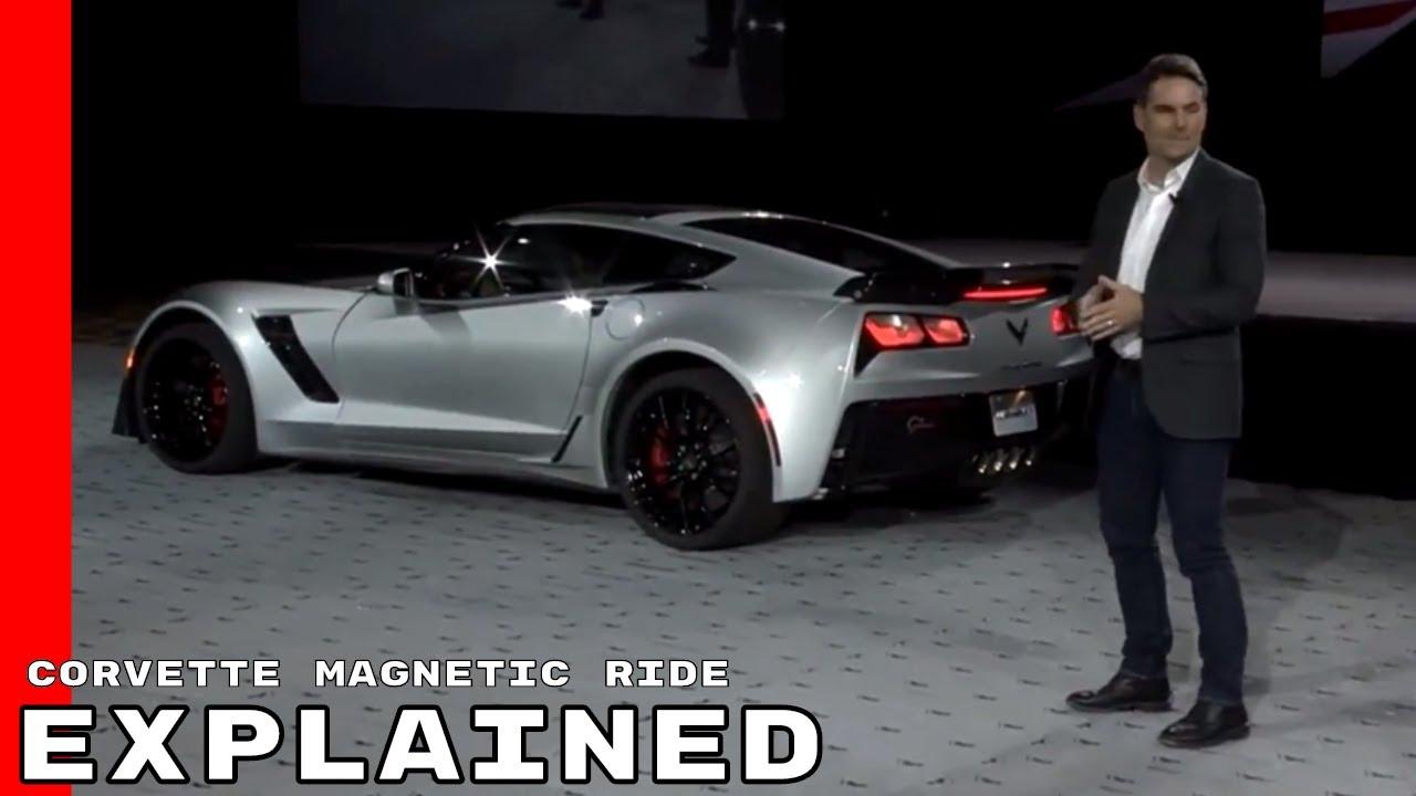 Corvette C7 Magnetic Ride Performance Explained
