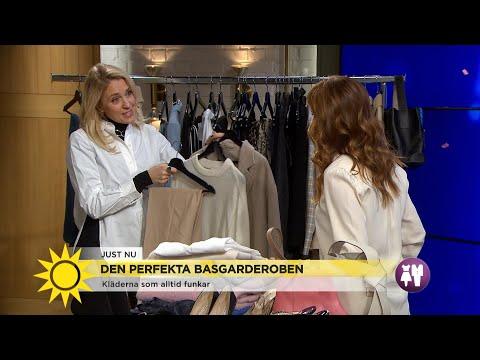 Mode – Så skapar du en perfekt basgarderob - Nyhetsmorgon (TV4)