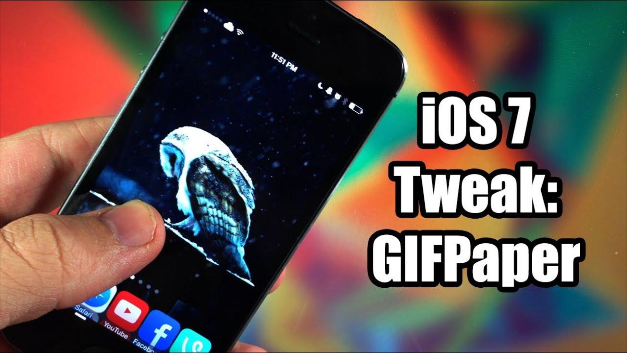 Ios 7 jailbreak tweak gifpaper youtube - Gifpaper ios 9 ...