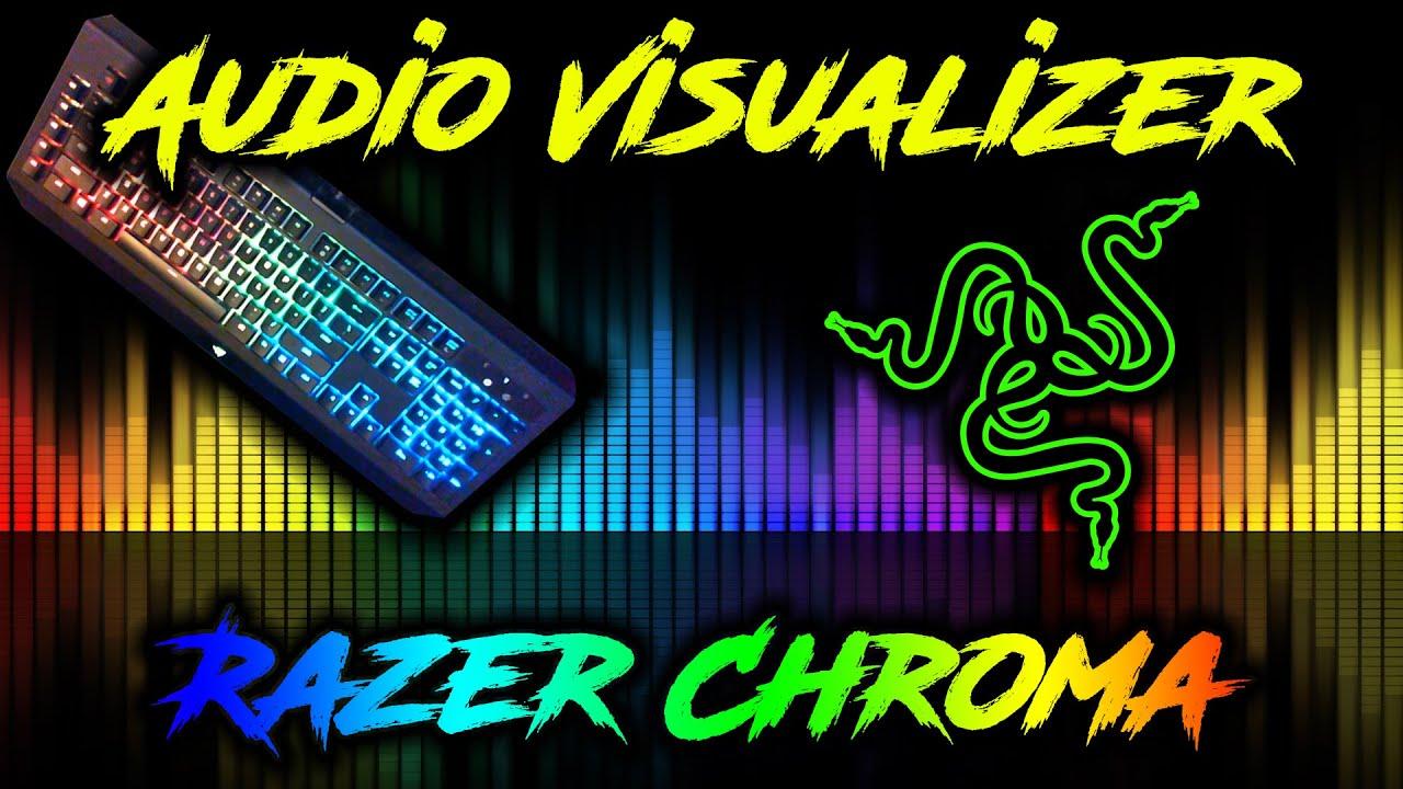Audio Visualizer on Razer Chroma Keyboard | How To
