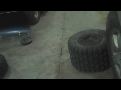 How to break bead on ATV Tire