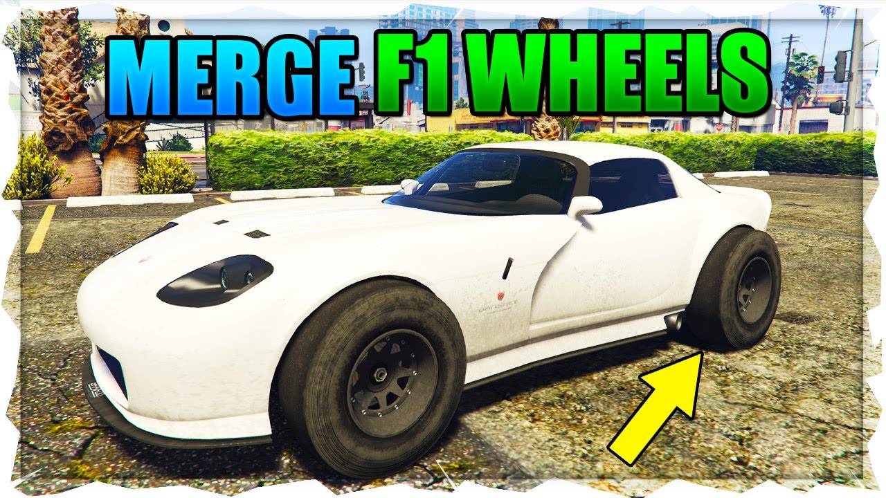 New Solo Put F1 Wheels On Any Car In Gta 5 Online Glitch F1 Wheels Merge Glitch 1 50 Youtube