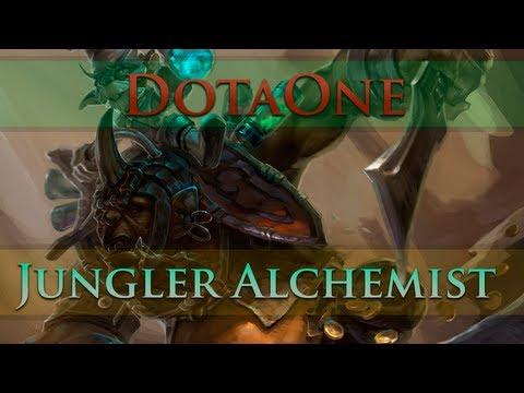 видео: dota 2 - Как фармить алхимиком лес? | jungler alchemist
